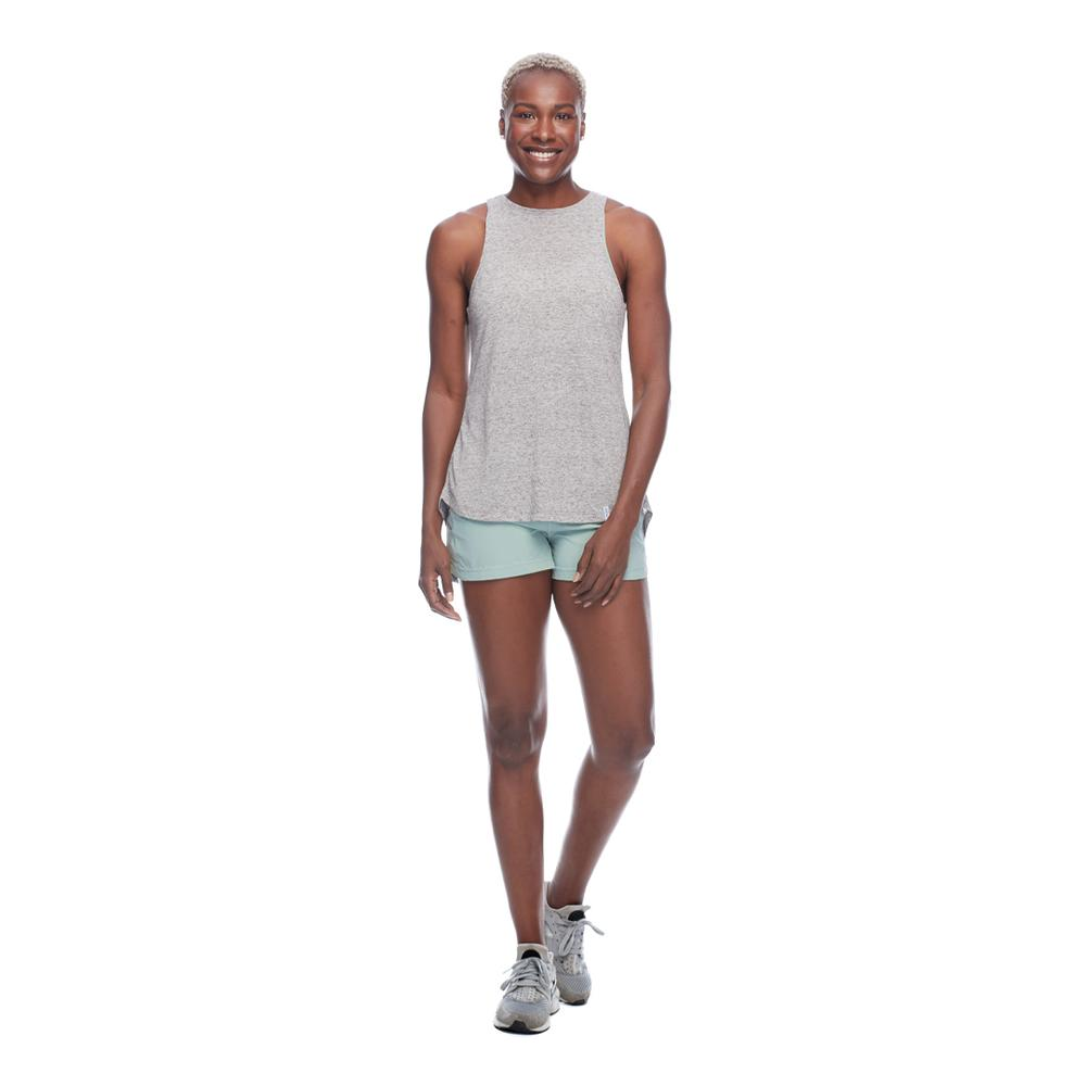 Body Glove Women's Active Calima Heather Tank Top With A High Neck Relaxed Fit Or You Can Tie The Back
