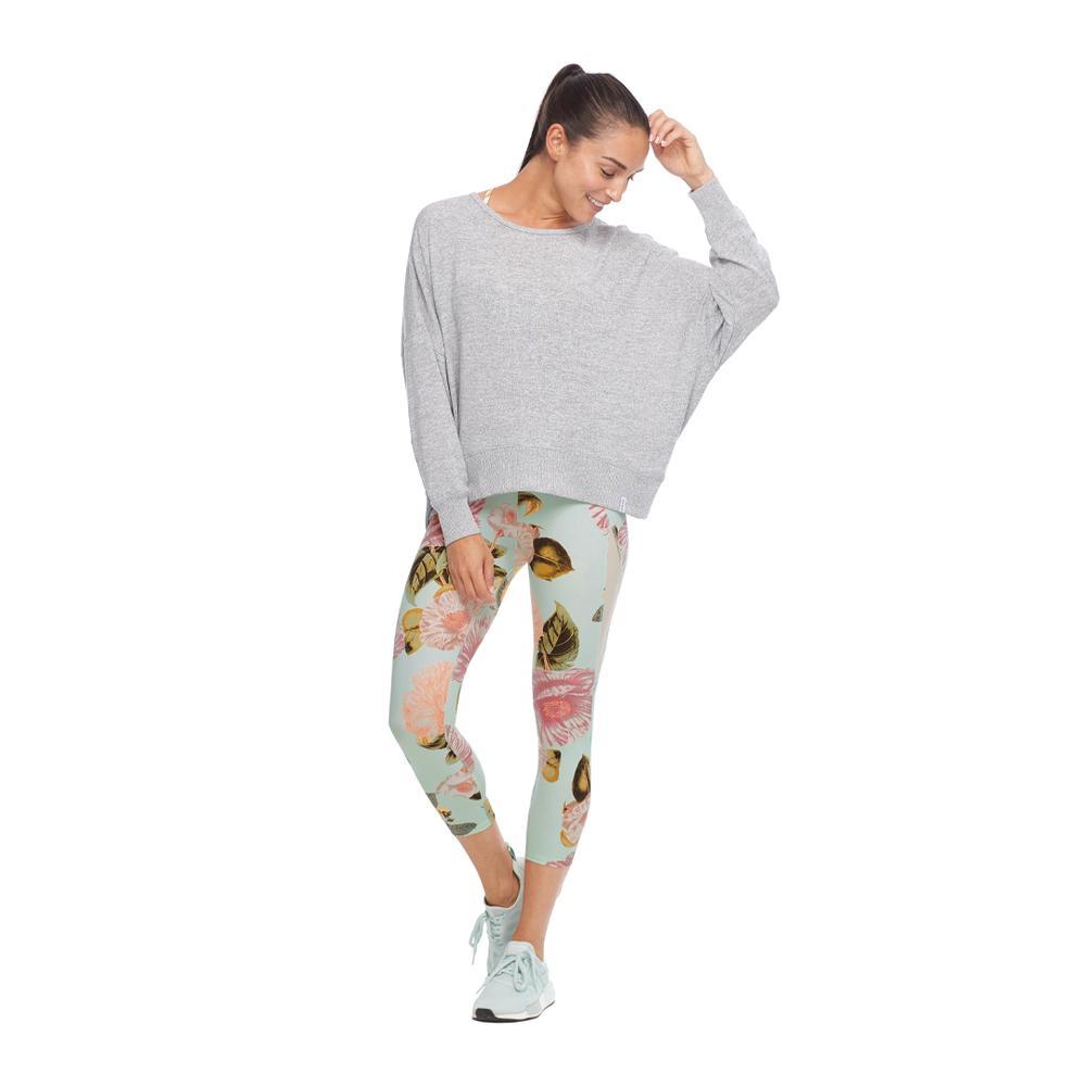 Body Glove Women's Active Veritas Long Sleeve Top Sweatshirt Style Dolman Sleeves Open Back