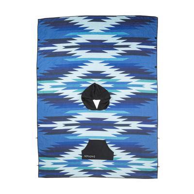 UINTA BLUE PONCHO TOWEL