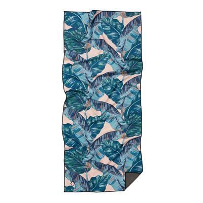 BANANA LEAF TEAL TOWEL