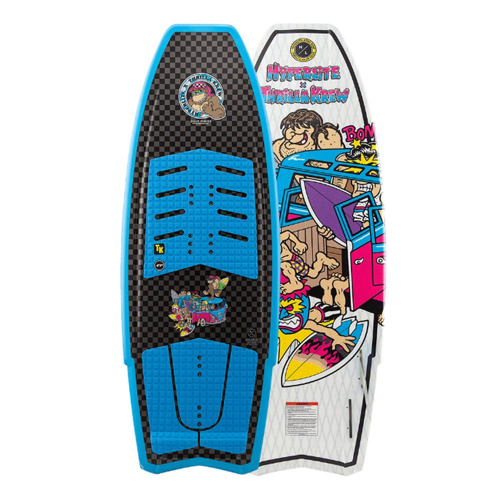 Durashell Construction, Removable Foot Straps, Front Foot Strap Position Adjustability, Reinforced Lay- Up, Carbonetx Inlay, Eps Core, Rolled Edge Profile, Tip/Tail Flow Channels, Fully Machined Eva Traction Pad, Lap Construction, Layered Glass
