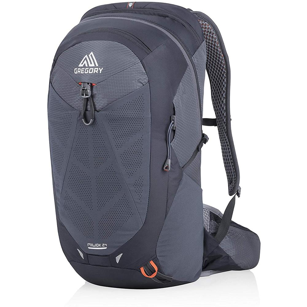 100d Nylon/200d Embossed Polyester.  Biosync Suspension : Fully Adjustable Torso Length For The Perfect Fit.  Airwave Backpanel : 3d Open- Air Design To Reduce Direct Contact And Encourage Airflow.  3d Hydro Reservoir : Hold 3 Liters Of Water To Keep You Hydrated On Your Run.  Speed Clip : This Hanger System Allows One- Handed, Snap- And- Go Reservoir Installation And Stabilizes The Weight In The Center Of Your Back.  Main Access : Panel Loader.
