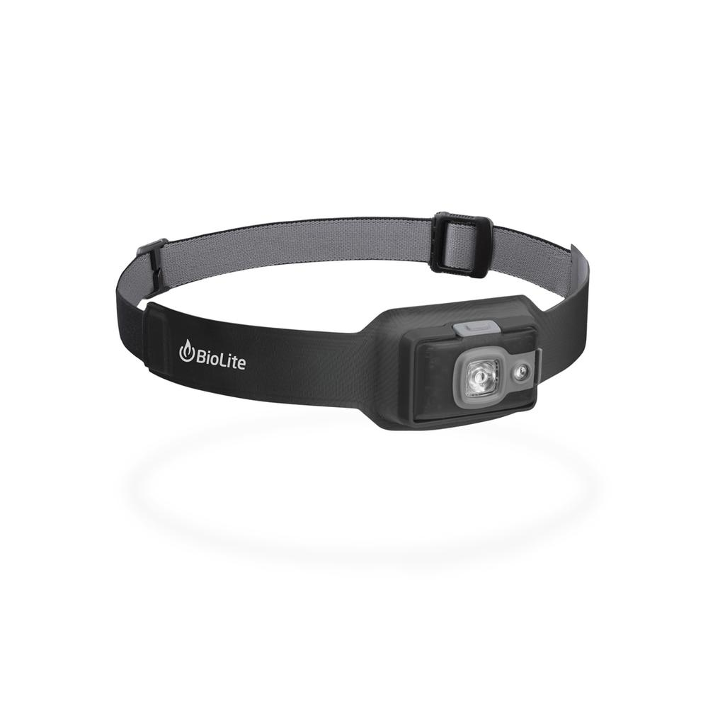 Comfort And Fit, Biolite Headlamp 200, 200 Lumens, Four Light Modes
