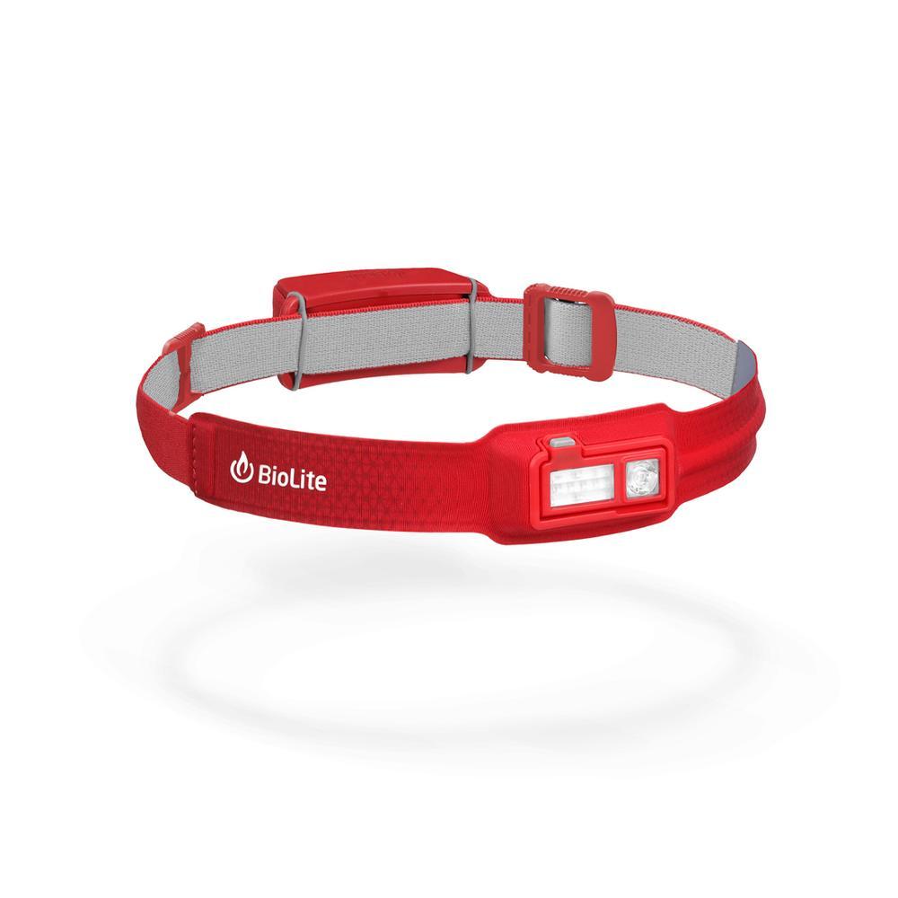 Biolite Headlamp 330, Ultra- Thin, Rebalanced Weight, Smart Fabrics, Night Vision