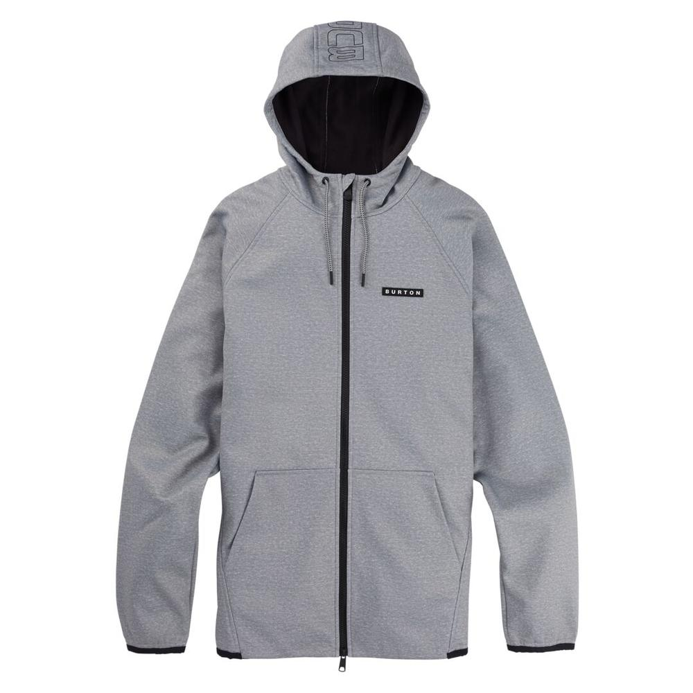 Men's Burton Crown Weatherproof Full- Zip Fleece