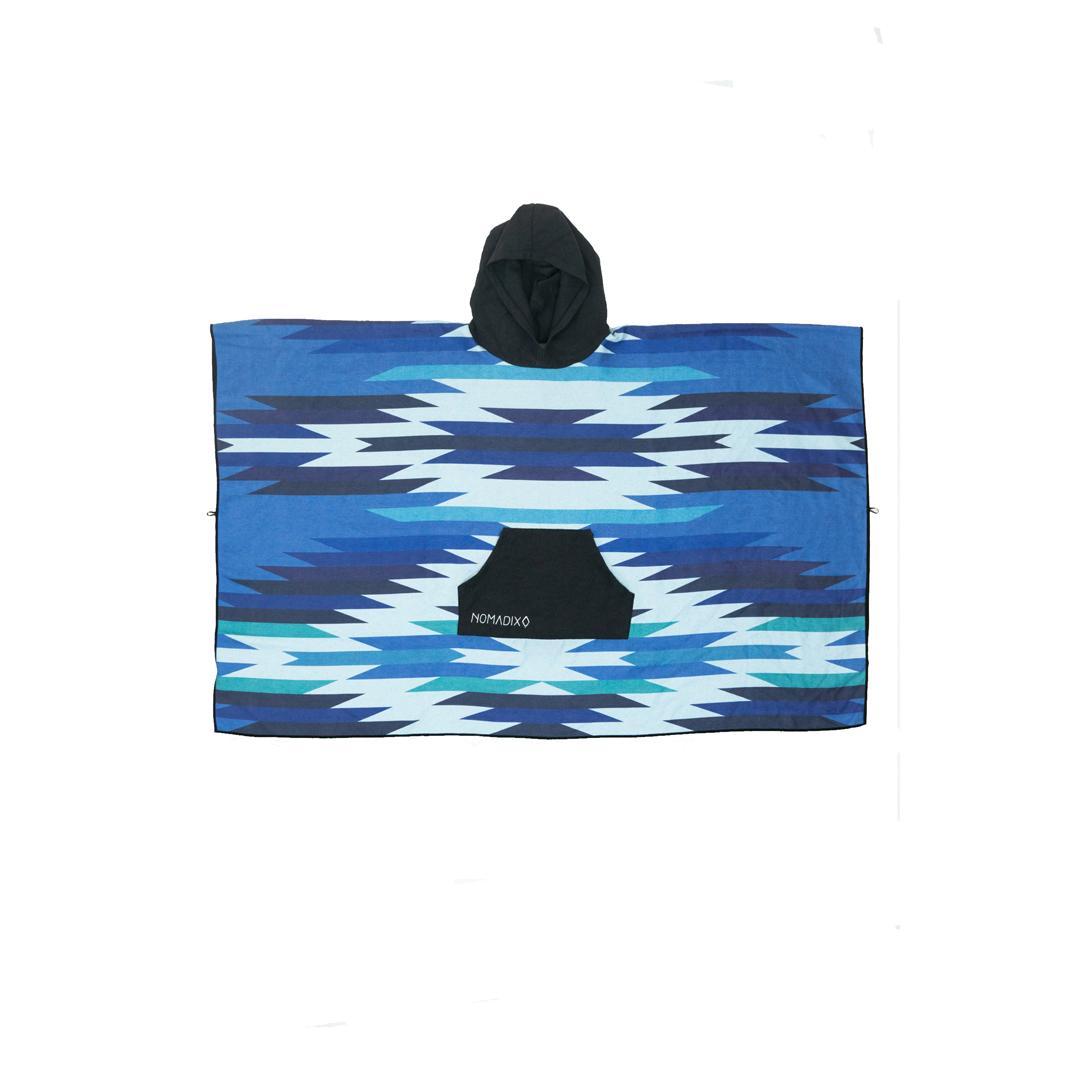 Nomadix Uinta Blue Poncho Towel