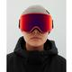 Anon WM3 Snow Goggles - Orange.com / Perceive Suny Red + Spare Lens- model