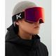 Anon WM3 Snow Goggles - Orange.com / Perceive Suny Red + Spare Lens -model