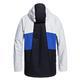 Dc Shoes Men's Defy  Snowboard Jacket-Black, Blue and White