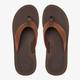 Quicksilver Oasis Deluxe Leather Sandals-Top
