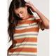 Volcom Women's Site Linez Short Sleeve Shirt