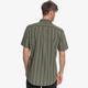 QuickSilver Men's Vertical Stripe Short Sleeve Shirt-Back