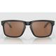 Oakley Holbrook Matte Black/Prizm Tungsten Polarized Sunglasses