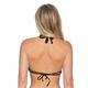 B. Swim Women's Hi-Neck Bikini Top-Back